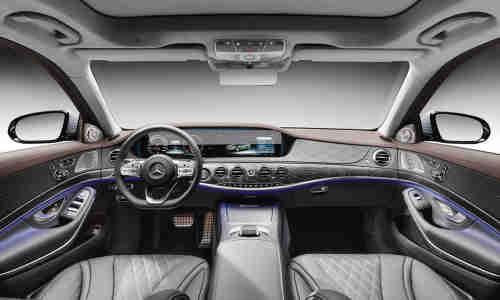 Mercedes Benz S Klasse 2018 Mercedes S400 D Im Connectivity