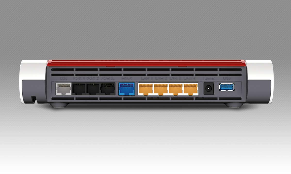 Endlich am Ziel: 5 WLAN-Router im Test: AVM Fritzbox 7590