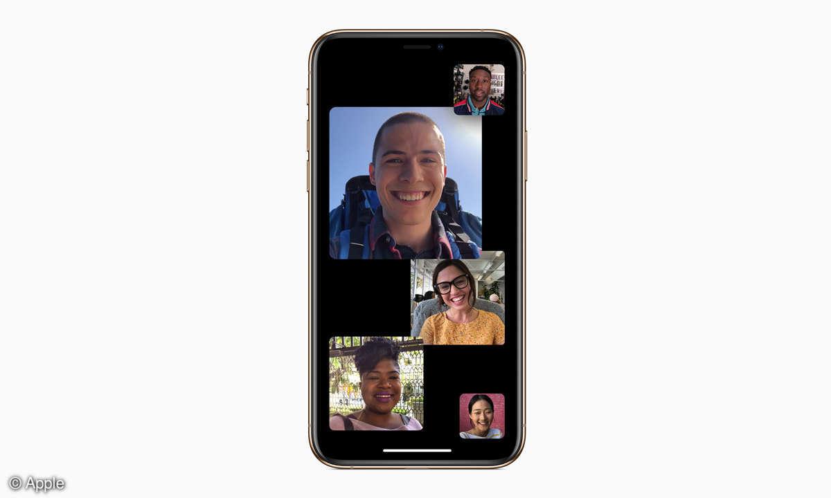 iOS 12.1 FaceTime