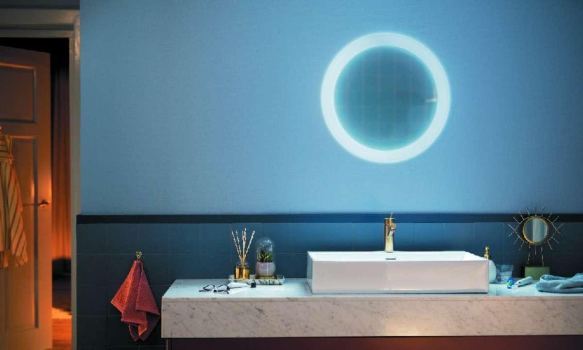 Smartes Licht fürs Badezimmer