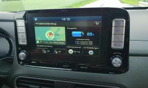 Hyundai Kona Display Bedienung