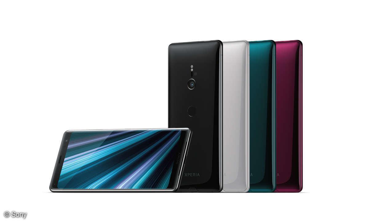 Randlose Schönheit: Sony Xperia XZ3 im Test