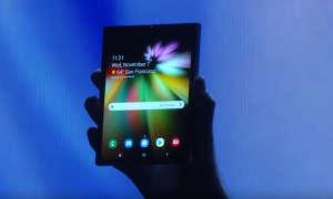 Samsung faltbares Smartphone mit Infinity Flex Display