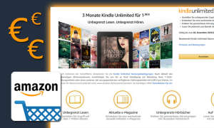 Amazon Kindle Unlimited Angebot