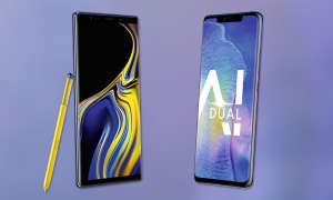 Samsung Galaxy Note 9 vs Huawei Mate 20 Pro