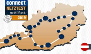 connect Mobilfunknetztest 2019 Österreich