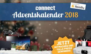 Der connect.de-Adventskalender ist zum Jahresende immer wieder ein Highlight!