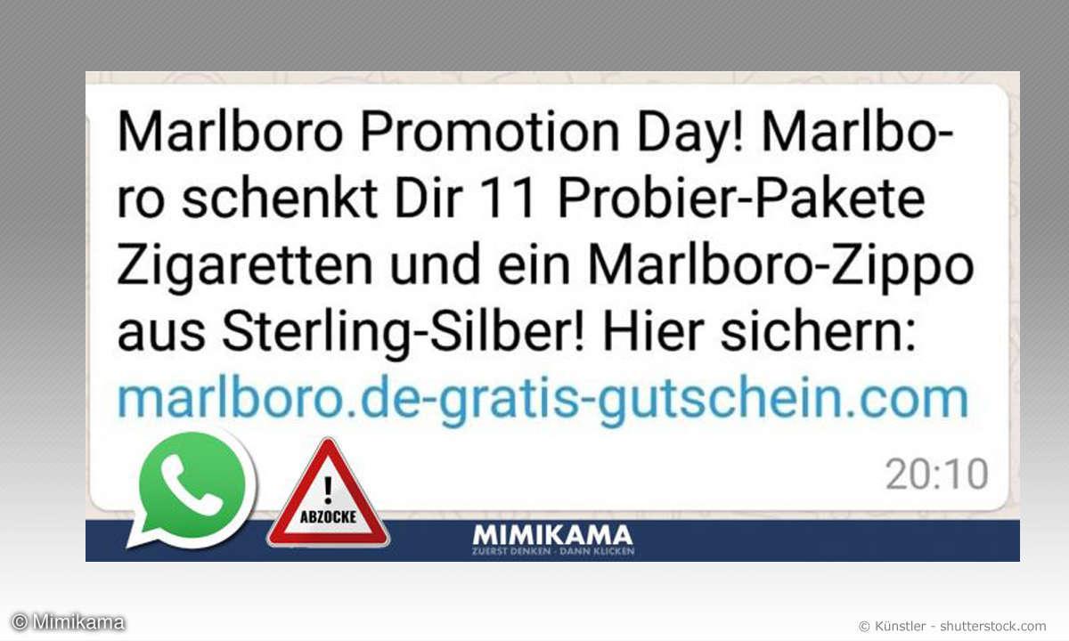 Mimikama Whatsapp Marlboro