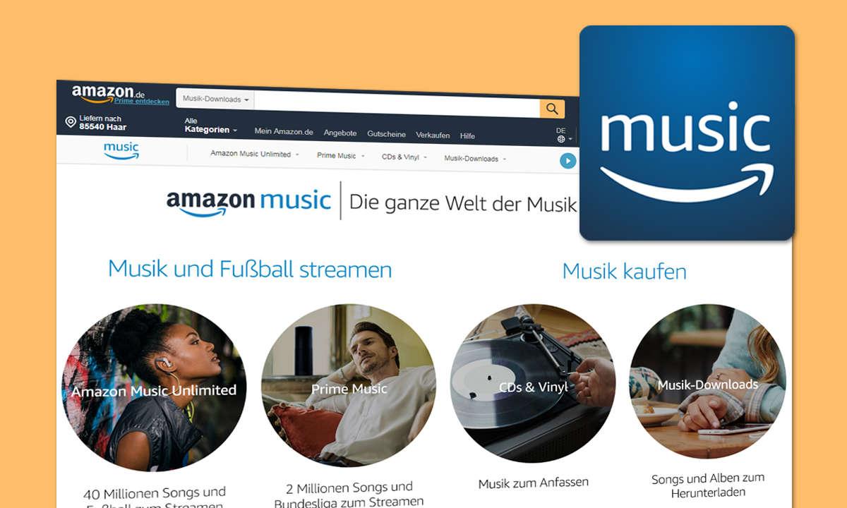 Amazon Music Kostenloses Musik Streaming Ohne Prime Lohnt Sich Das Connect