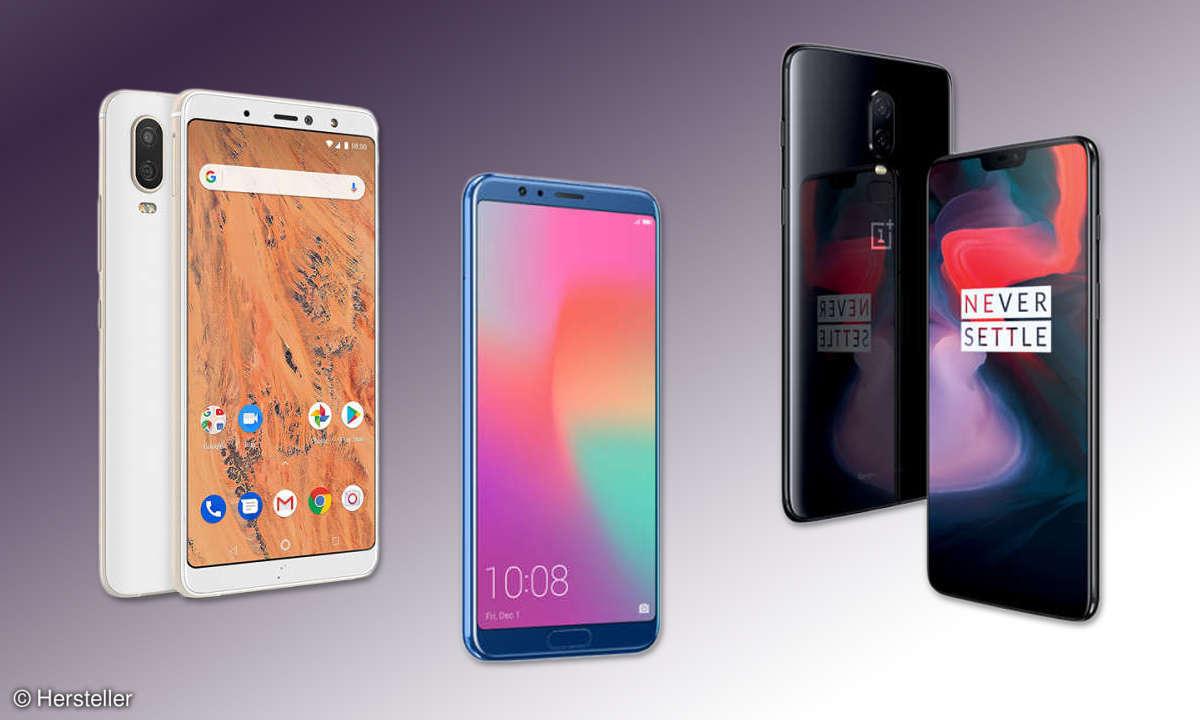 Newcomer Smartphones