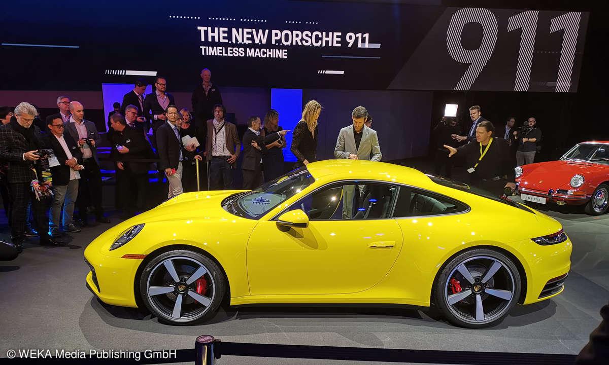 Der neue Porsche 911er - Eine Ikone geht in die achte Generation