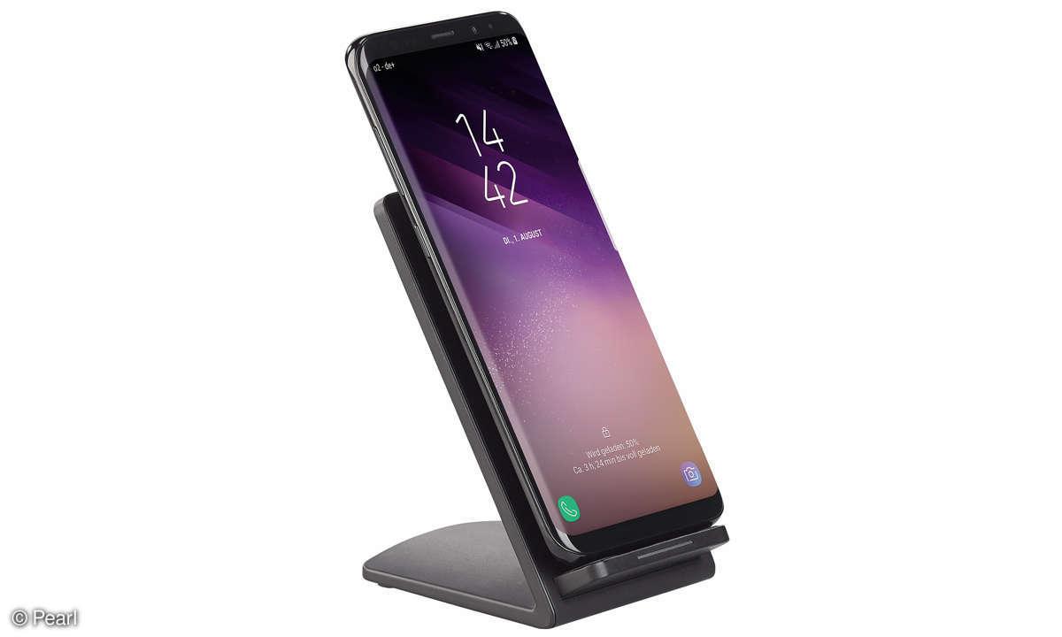 Callstel Induktions-Ladeständer für Qi-kompatible Smartphones
