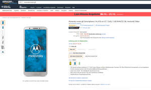 Motorola Moto G6 Amazon Angebot