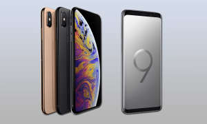 Apple iPhone XS Max Samsung Galaxy S9 Vergleich