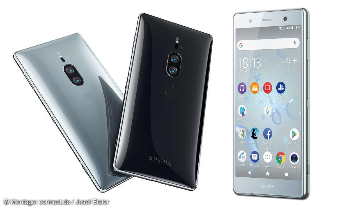 Sony Xperia XZ2 Premium im Test