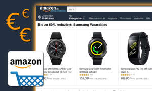 amazon angebot samsung wearables