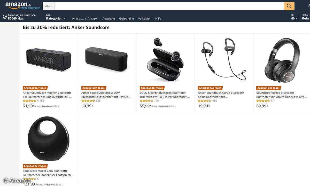 Anker Amazon Angebot