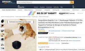 Saugroboter Bagotte Amazon