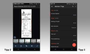 Unterwegs arbeiten: 10 Apps für das mobile Büro - Tipp 2 & 3