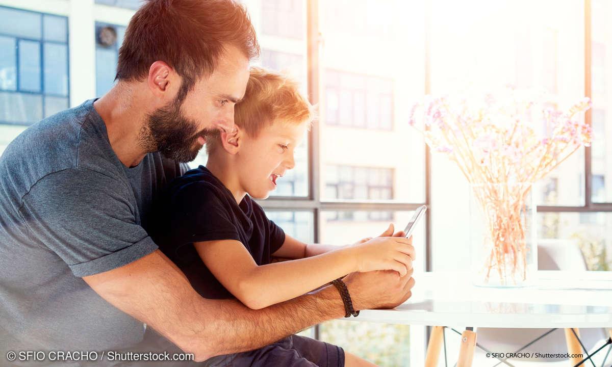 Kinder Lern-App Smartphone