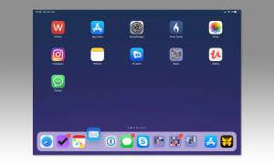 Multi-Tasking auf dem iPad mit iOS 12 - Dock