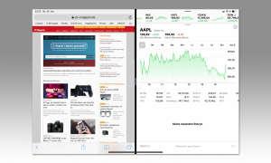 Multitasking iOS 12: Split View Display Aufteilung ändern