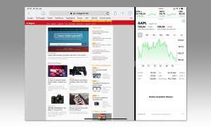 Multitasking iOS 12: Split View Display Aufteilung