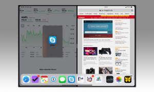 Multitasking iOS 12: Split View - Space