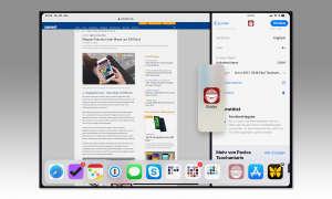 Multitasking iOS 12: Slide over in Split view