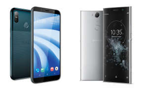 Xperia XA2 Plus und HTC U12 Life im Vergleich