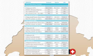 Netztest 2019 Schweiz: Daten Kleinstädte Drivetest