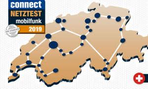 connect Mobilfunknetztest 2019 Schweiz