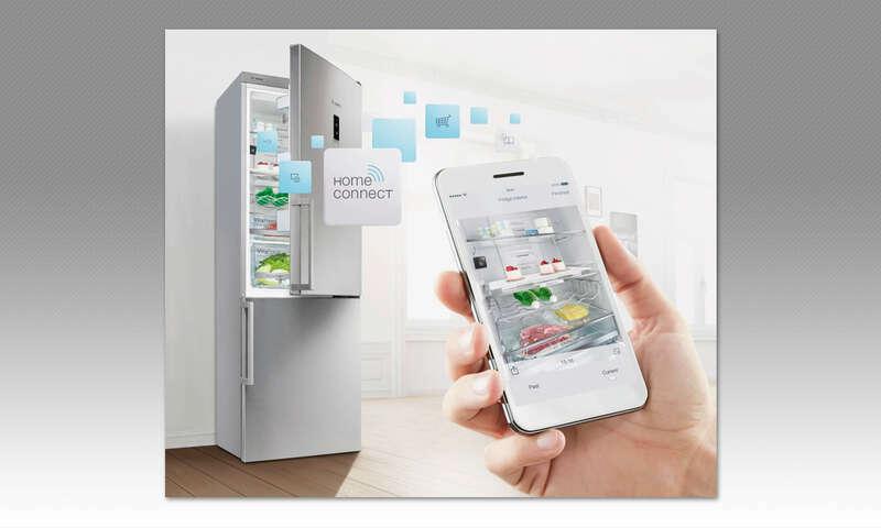 Bosch Kühlschrank Schwer Zu öffnen : Smarte küche kühlschrank connect