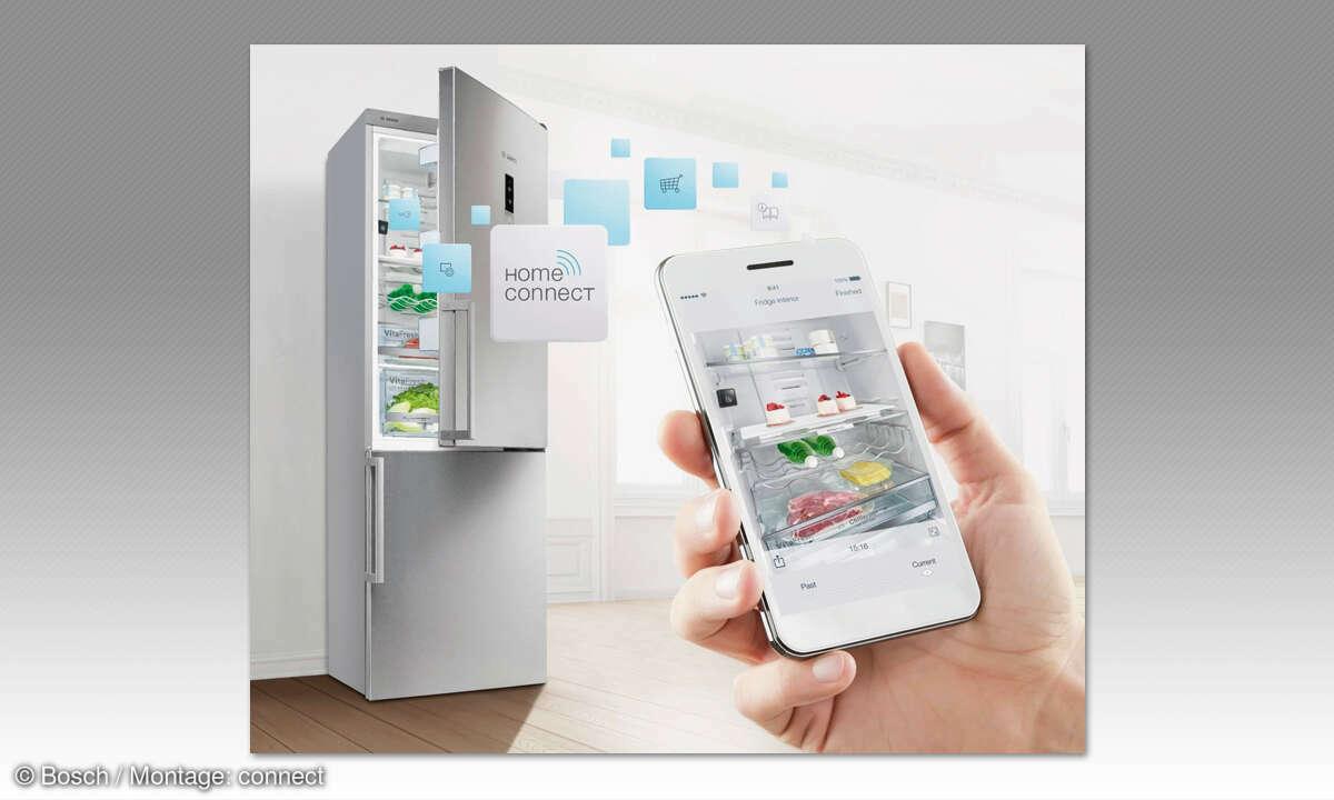 Smarte Küche - Kühlschrank Bosch