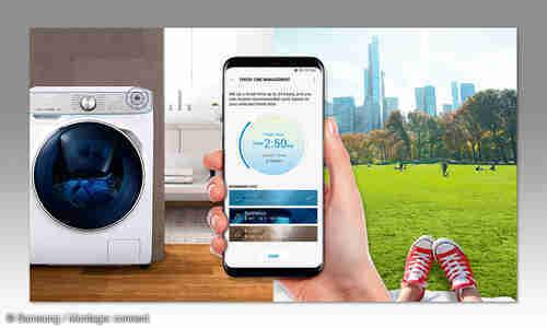 Smarte Kuche Waschmaschine Connect