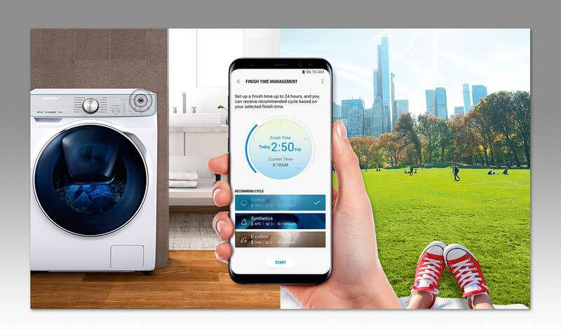 Smarte Küche - Waschmaschine - connect