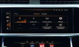 Audi A6 Avant 2018 Infotainment