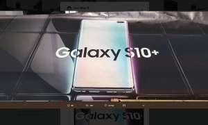 Galaxy S10: Werbeplakat geleakt