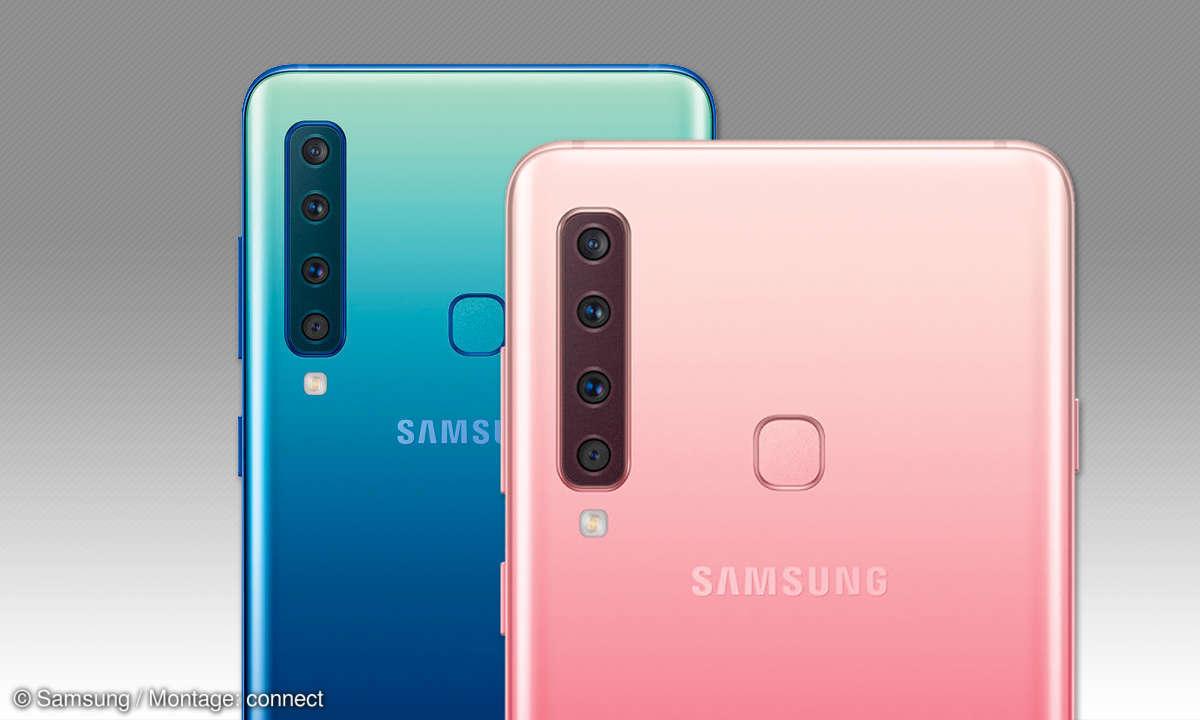 Samsung Galaxy A9 (2018) im Test - Kameras