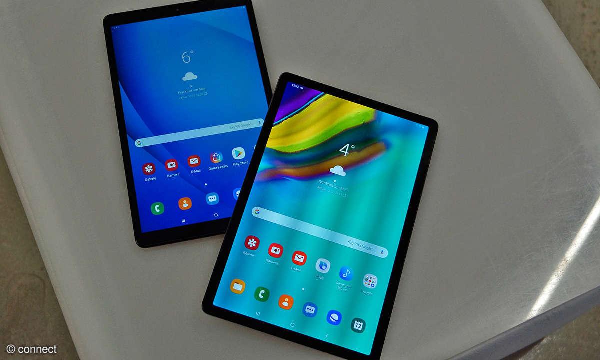 Samsung Galaxy Tab A (2019) und Tab S5e
