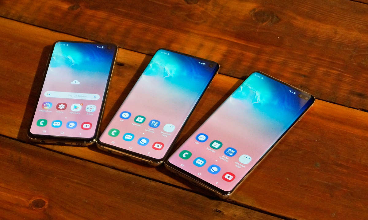 Samsung Galaxy S10e, S10 und S10+