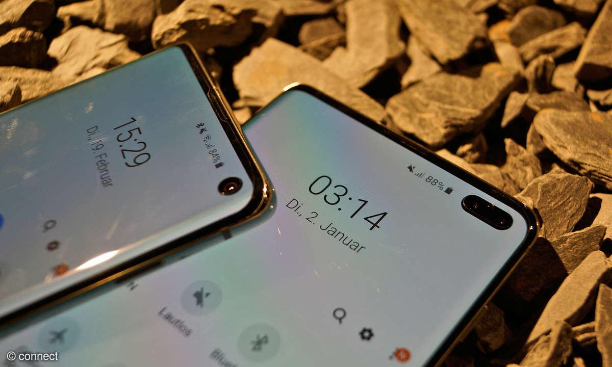 Samsung Galaxy S10 und S10+