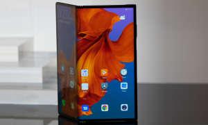 Huawei Mate X geknickt