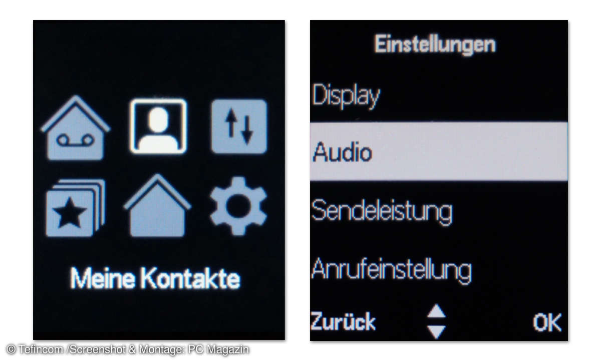 Telekom Speedphone 51 im Test - Screenshots