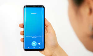 Bixby auf Samsung Galaxy S8