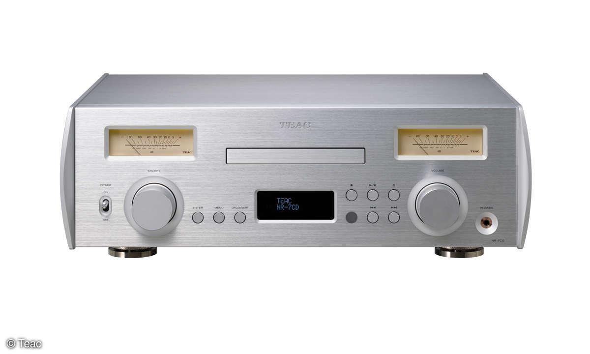 Ode an die 80er: Teac NR-7CD  im Test