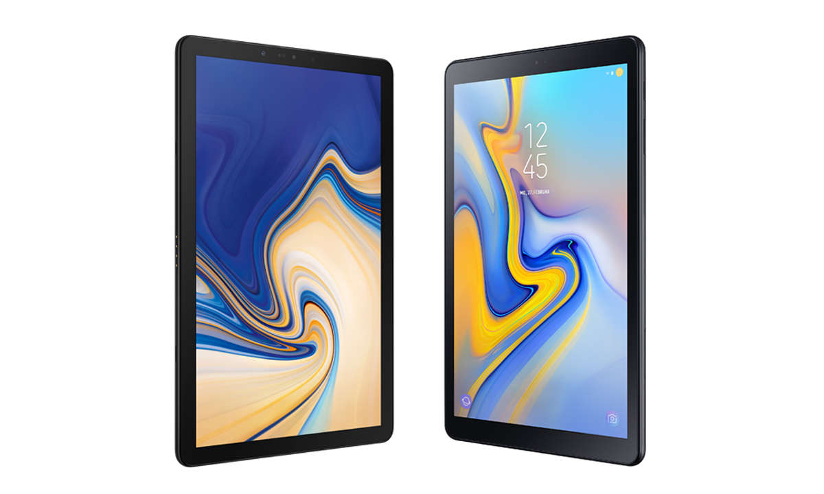Samsung Galaxy: Tab S4 LTE vs. Tab A 10.5 LTE im Vergleich