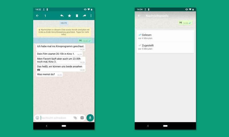 status sehen whatsapp android