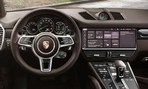 Porsche Cayenne E-Hybrid: Touchscreen