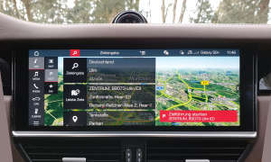 Porsche Cayenne E-Hybrid: Navigation